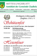 Amtsblatt Claußnitz April 2014